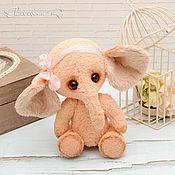 Куклы и игрушки ручной работы. Ярмарка Мастеров - ручная работа Тедди слоник Софи. Handmade.