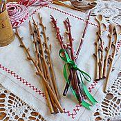 """Подарки к праздникам ручной работы. Ярмарка Мастеров - ручная работа """"Веточки вербы"""" из дерева. Handmade."""