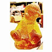"""Для дома и интерьера ручной работы. Ярмарка Мастеров - ручная работа Стутуэтка """"Мишка Тэдди"""" хрусталь.. Handmade."""