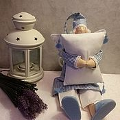 Куклы и игрушки ручной работы. Ярмарка Мастеров - ручная работа Сонный ангел.Сплюшка. Handmade.