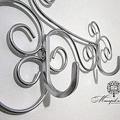 Для дома и интерьера handmade. Livemaster - original item wrought iron wall hanger autumn. Handmade.