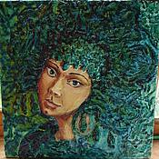 """Картины и панно ручной работы. Ярмарка Мастеров - ручная работа """"Хозяйка медной горы"""". Handmade."""