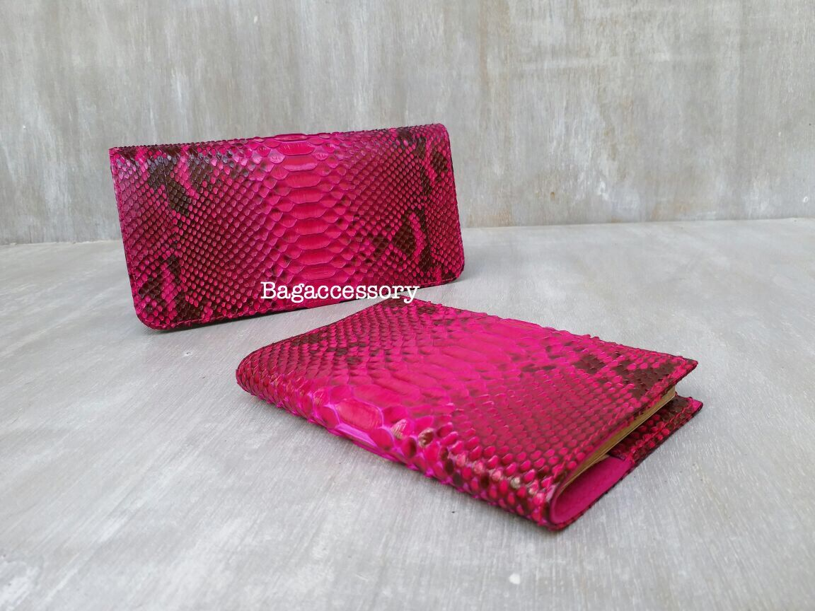 Wallet genuine Python skin, Wallets, Moscow,  Фото №1