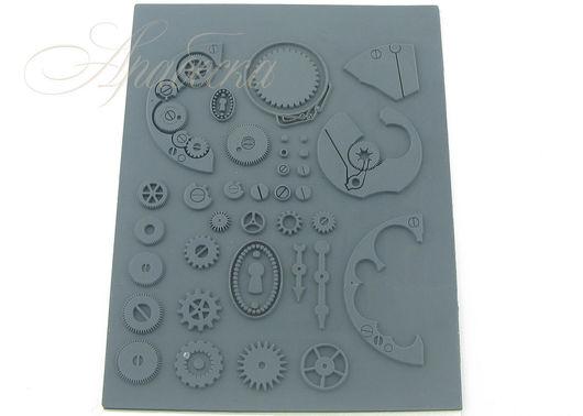 Текстурный штамп Шестеренки Craft&Clay (Китай)