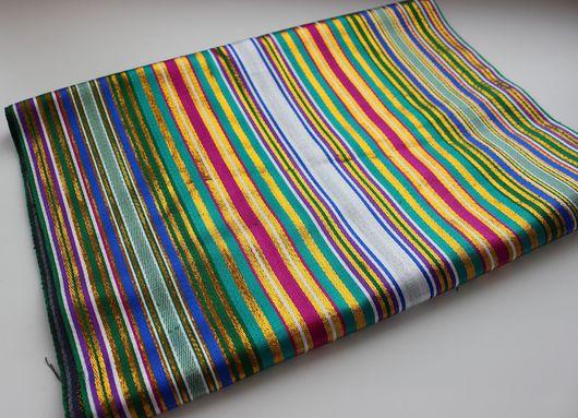 Шитье ручной работы. Ярмарка Мастеров - ручная работа. Купить Узбекская  шелковая ткань Бехасаб. Handmade. Икат, шелк