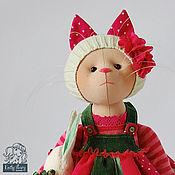 Куклы и игрушки ручной работы. Ярмарка Мастеров - ручная работа Кошка Melon. Handmade.