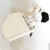 """Подарки к праздникам ручной работы. Ярмарка Мастеров - ручная работа Авторская кукла """"Земная музыка"""". Handmade."""