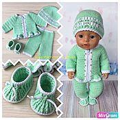 handmade. Livemaster - original item Clothes set for baby born doll / baby Bon / baby born. Handmade.