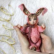 Куклы и игрушки ручной работы. Ярмарка Мастеров - ручная работа Манюня тедди-долл. Handmade.