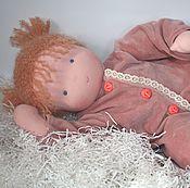 Куклы и игрушки ручной работы. Ярмарка Мастеров - ручная работа Вальдорфский младенец-девочка 50 см. Handmade.