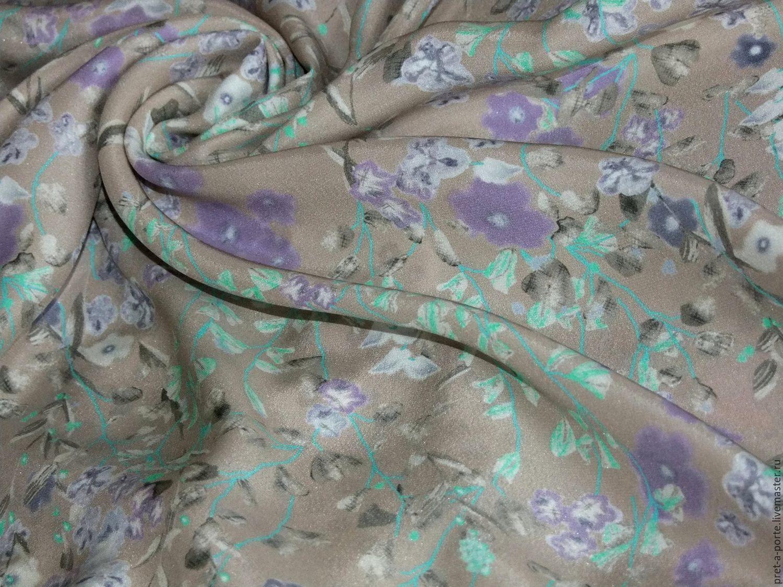 Креп шелковый с эластаном (Alta moda) , Италия, Ткани, Абинск,  Фото №1