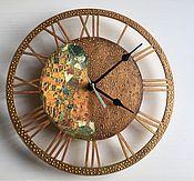 Для дома и интерьера ручной работы. Ярмарка Мастеров - ручная работа Часы Поцелуй. Handmade.