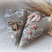 Куклы и игрушки handmade. Livemaster - original item Hearts in the style of the Tilde. Handmade.