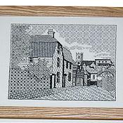 """Картины и панно ручной работы. Ярмарка Мастеров - ручная работа Картина"""" Улочка старого города"""". Handmade."""