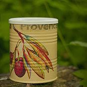 Для дома и интерьера handmade. Livemaster - original item Jar decoupage La Provence. Handmade.