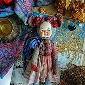 Тедди Долл ручной работы. Ярмарка Мастеров - ручная работа Тедди Долл Mouse. Handmade.