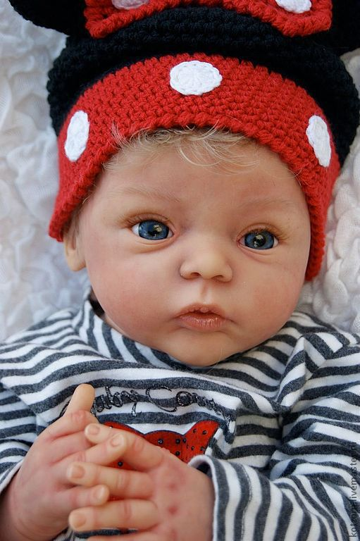 Куклы-младенцы и reborn ручной работы. Ярмарка Мастеров - ручная работа. Купить младенец  reborn baby doll. Handmade. Бежевый