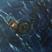 Картины и панно handmade. Livemaster - original item Sea monster. Handmade.