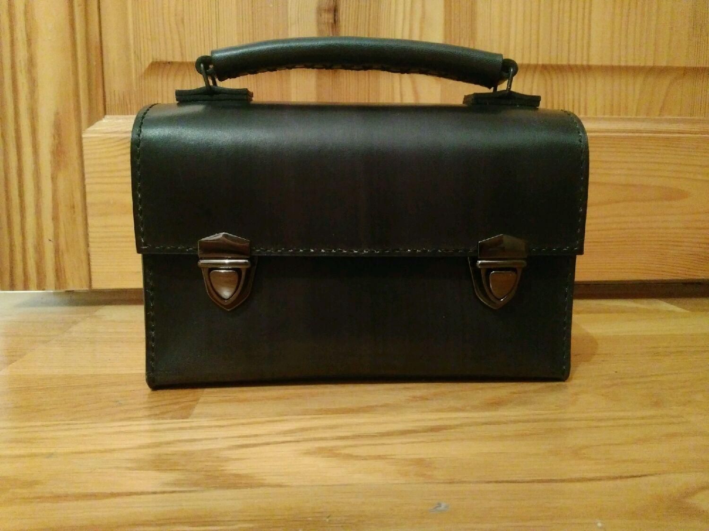 fbecd7f558f3 Мужские сумки ручной работы. Ярмарка Мастеров - ручная работа. Купить  Барсетка мужская кожаная сумка ...