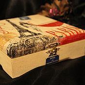 """Для дома и интерьера ручной работы. Ярмарка Мастеров - ручная работа Шкатулка """"Мон амур"""". Handmade."""