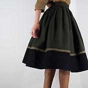 Одежда ручной работы. Ярмарка Мастеров - ручная работа Шерстяная юбка. Handmade.