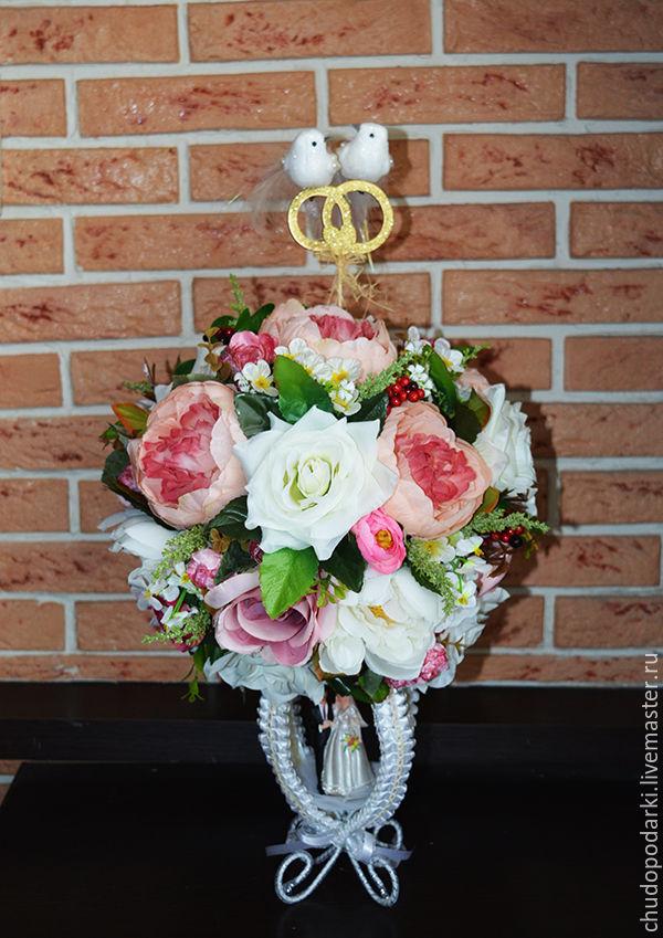 Свадебный топиарий фото