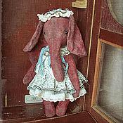 Куклы и игрушки ручной работы. Ярмарка Мастеров - ручная работа Бохо слоник Тедди. Handmade.