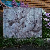 Для дома и интерьера ручной работы. Ярмарка Мастеров - ручная работа Ангел играет на дудочке. Handmade.