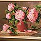 Букет пионов, чудесные цветы в подарок.