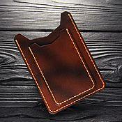 Cover handmade. Livemaster - original item Leather case for auto documents. Leather cover for avtodokumentov. Handmade.