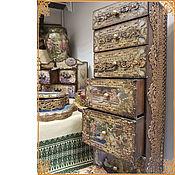 "Подарки к праздникам handmade. Livemaster - original item Mini-chest of drawers ""Empire"". Handmade."