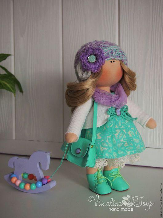 Куклы Тильды ручной работы. Ярмарка Мастеров - ручная работа. Купить Интерьерная кукла. Handmade. Мятный, текстильная кукла, подарок