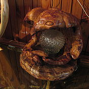 Для дома и интерьера handmade. Livemaster - original item Rat King Lamp. Handmade.