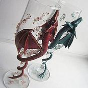 Субкультуры ручной работы. Ярмарка Мастеров - ручная работа Драконы-неразлучники. Handmade.