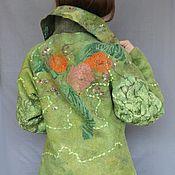 Одежда ручной работы. Ярмарка Мастеров - ручная работа Валяное пальто.. Handmade.