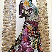 """Одежда ручной работы. Ярмарка Мастеров - ручная работа Авторское платье """"Драгоценная мозаика"""". Handmade."""