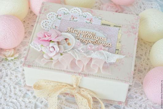 Подарки для новорожденных, ручной работы. Ярмарка Мастеров - ручная работа. Купить Нежные мамины сокровища. Handmade. Бледно-розовый