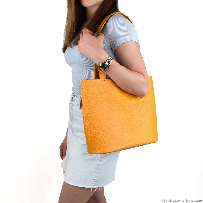 Сумка кожаная женская «Солнечная» мод. 018.2, Классическая сумка, Одинцово,  Фото №1