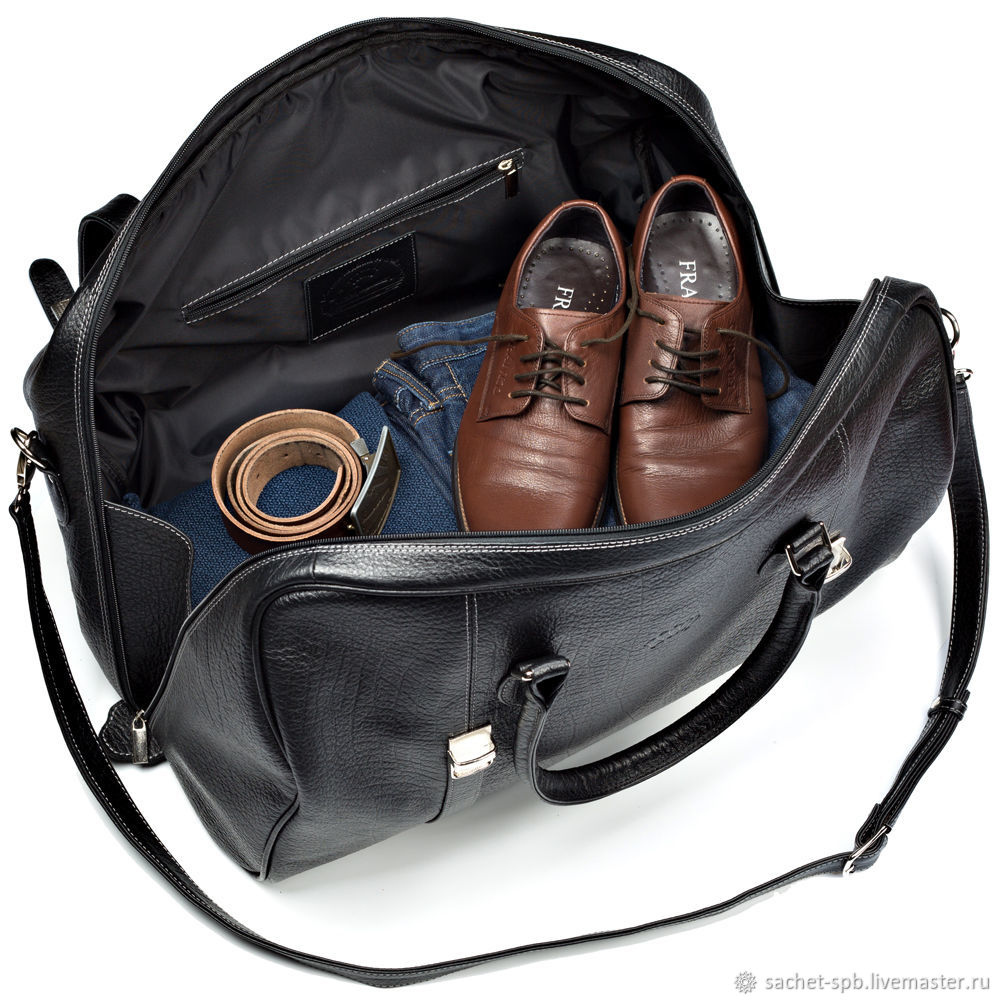 857d4f875668 Кожинка Мужские сумки ручной работы. Заказать Кожаная дорожная сумка