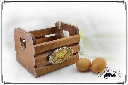 """Кухня ручной работы. Ярмарка Мастеров - ручная работа. Купить Бронь Деревянный ящик """"Ряба"""". Handmade. Коричневый, дерево, для хлеба"""