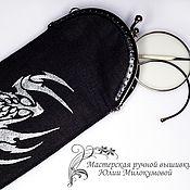 Сумки и аксессуары handmade. Livemaster - original item spectacle case scorpio. Handmade.
