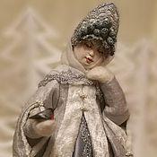 """Куклы и игрушки ручной работы. Ярмарка Мастеров - ручная работа Авторская кукла """"Снегурочка.Морозное кружево."""". Handmade."""