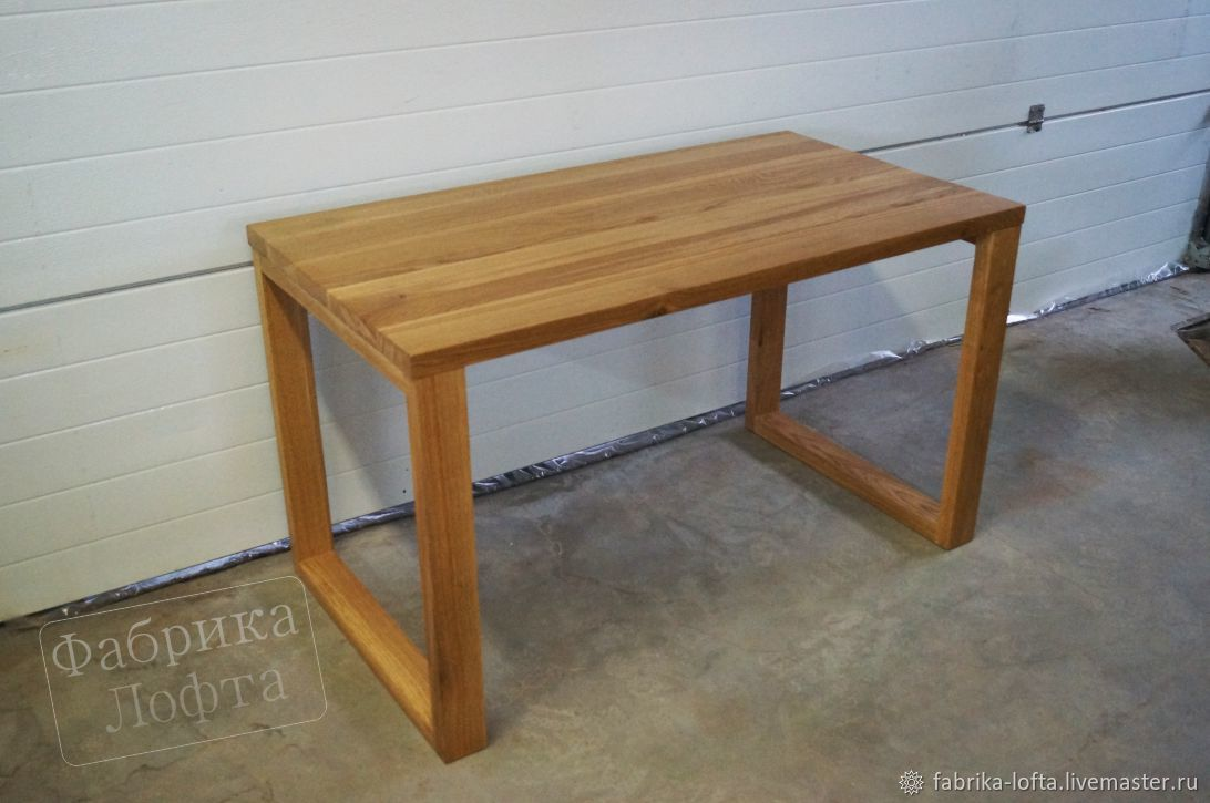 Dining table made of oak 700h1300, Tables, Moscow,  Фото №1