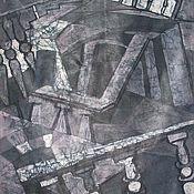 """Картины и панно ручной работы. Ярмарка Мастеров - ручная работа картина """"Вечером в театре"""". Handmade."""