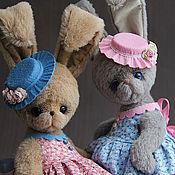 Куклы и игрушки ручной работы. Ярмарка Мастеров - ручная работа Зайки. Handmade.