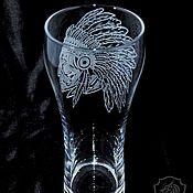 Посуда handmade. Livemaster - original item Indian. Beer glass. Handmade.