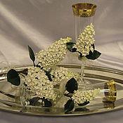 Свадебный салон ручной работы. Ярмарка Мастеров - ручная работа Белая сирень. Handmade.