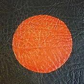 """Блокнот с красными листами """"Лунное затмение"""""""