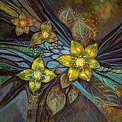 Картины и панно ручной работы. Ярмарка Мастеров - ручная работа Проблески света. Handmade.