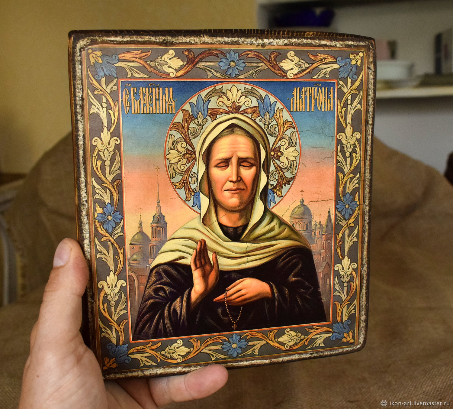 Icon 'the Holy blessed Matrona of Moscow', Icons, Simferopol,  Фото №1